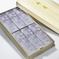 「日本香堂」 進物用 宇野千代のお線香 淡墨の桜