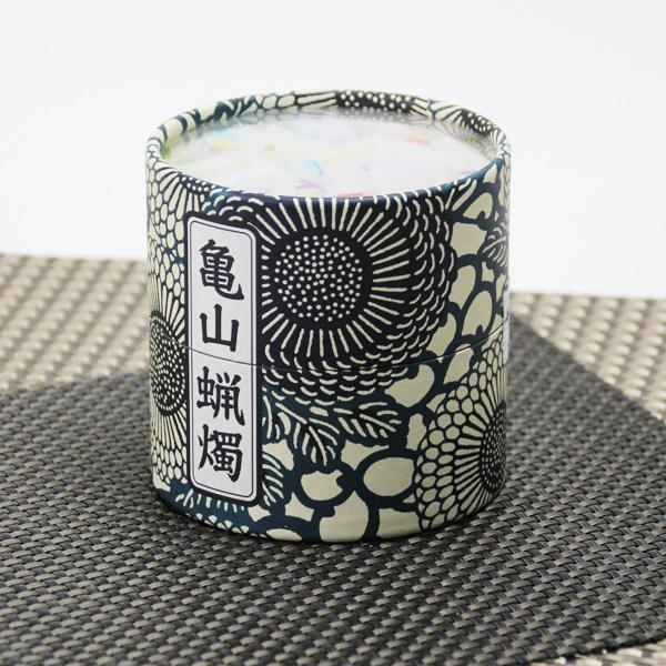 「カメヤマ」 亀山蝋燭 五色 10分